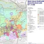 Карта города Абья-Палуоя