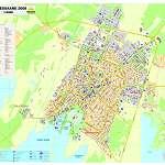Карта города Курессааре