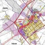Карта города Лихула
