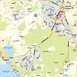 Карта города Отепя