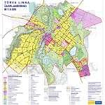 Карта города Тырва