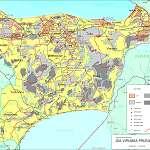 Топографическая карта уезда Ида-Вирумаа