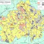 Топографическая карта уезда Рапламаа