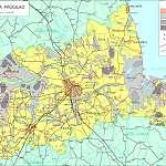 Топографическая карта уезда Тартумаа