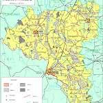 Топографическая карта уезда Валгамаа